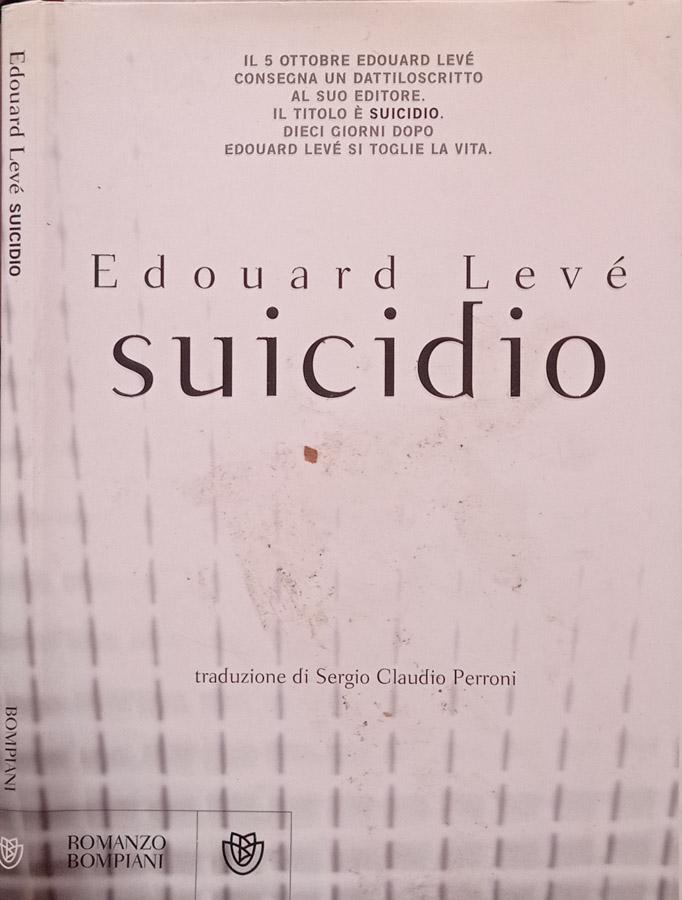 Suicidio - Edouard Levé