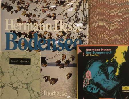 4 Titel: Hermann Hesse. Bodensee. Betrachtungen, Erzählungen,: Hesse, Hermann /
