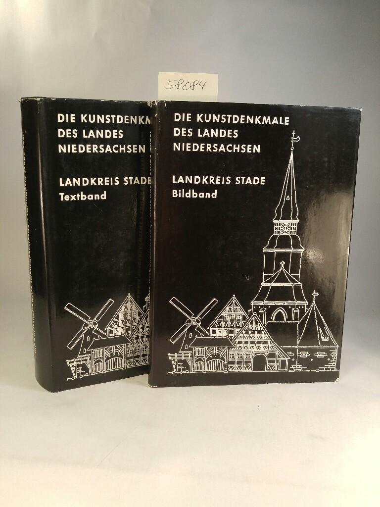 Die Kunstdenkmale des Landkreises Stade - Textband: Clasen, Carl-Wilhelm und