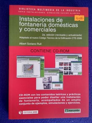 Instalaciones de fontanería domésticas y comerciales (con cd) - Albert Soriano Rull