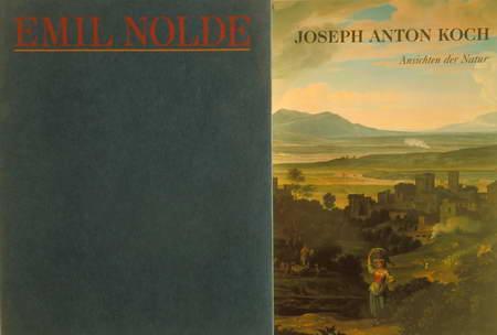 2 Bücher: Joseph Anton Koch. Ansichten der: Holst, Christian von