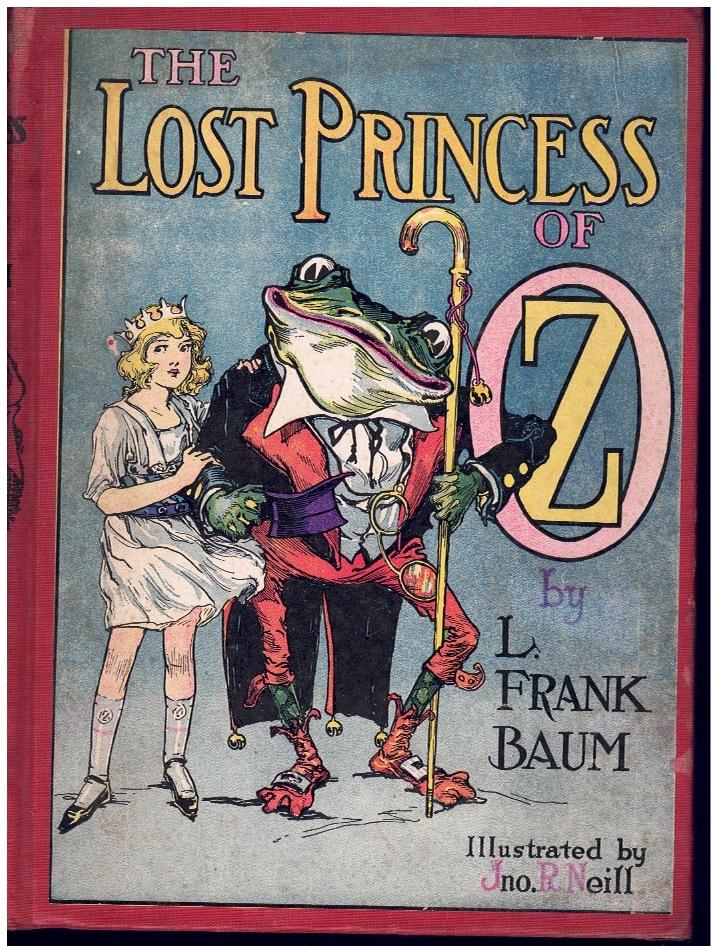 THE LOST PRINCESS OF OZ: Baum, Frank