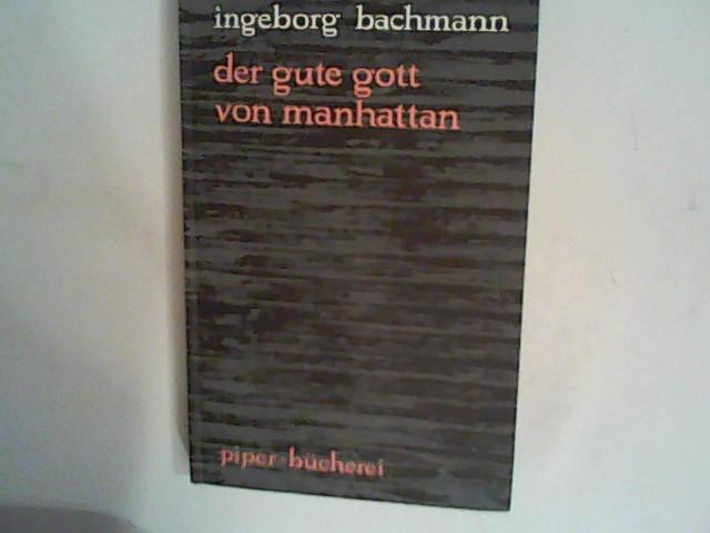 Der gute Gott von Manhattan : Hörspiel: Bachmann, Ingeborg: