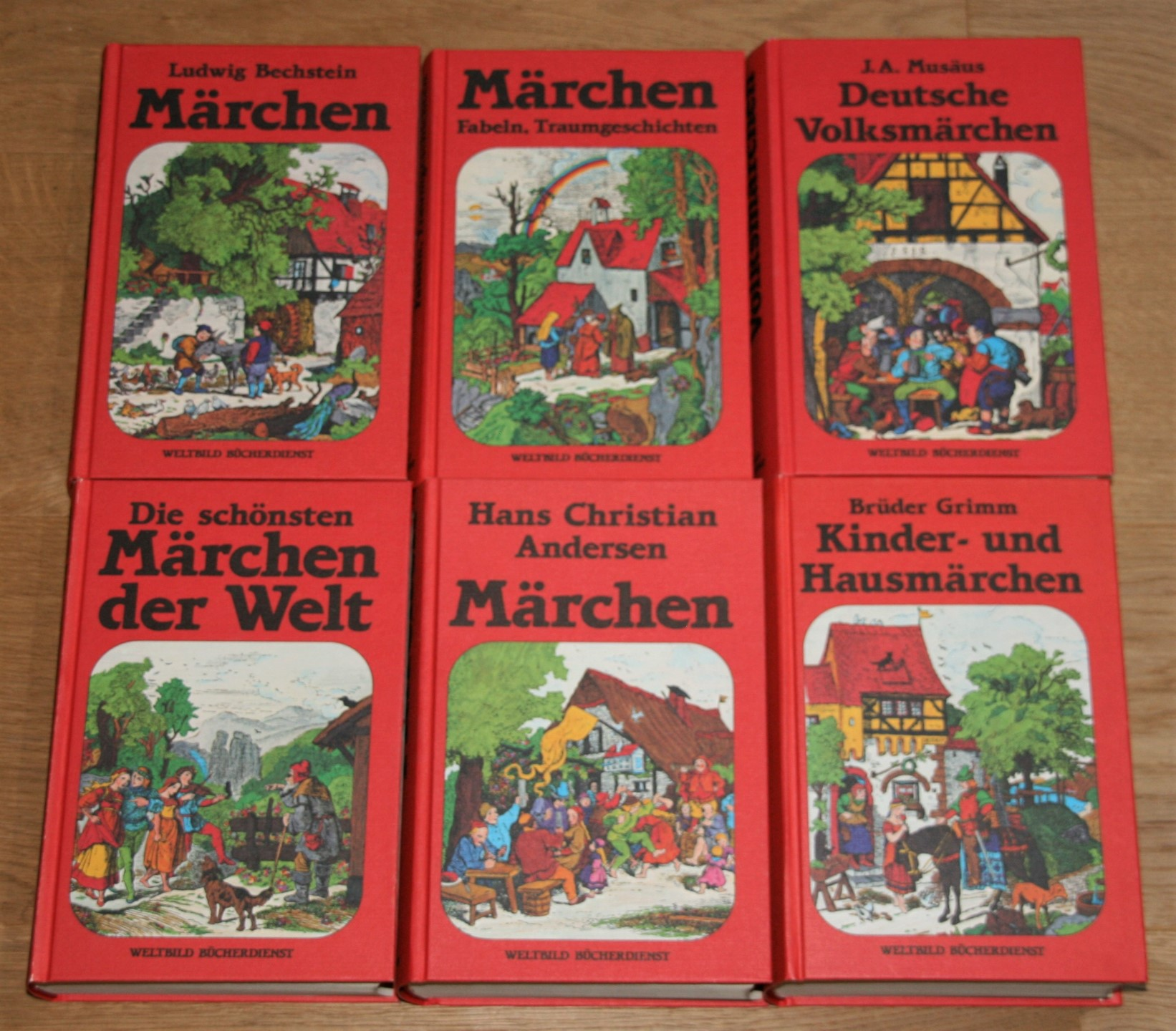 6 Bände: MÄRCHEN der Welt. Volksmärchen. Kinder-: Pinson, R. W.,