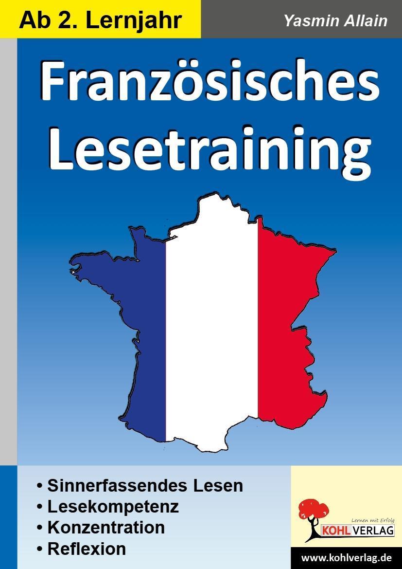 Französisches Lesetraining - Allain, Yasmin