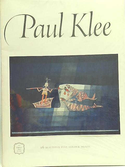 Paul Klee: Will Grohmann