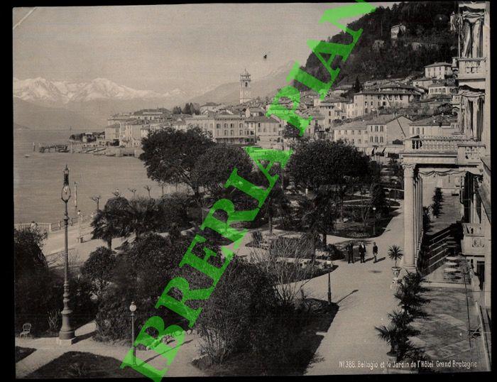 Bellagio et le Jardin de l'Hotel Grand: Schroeder. Zurich -