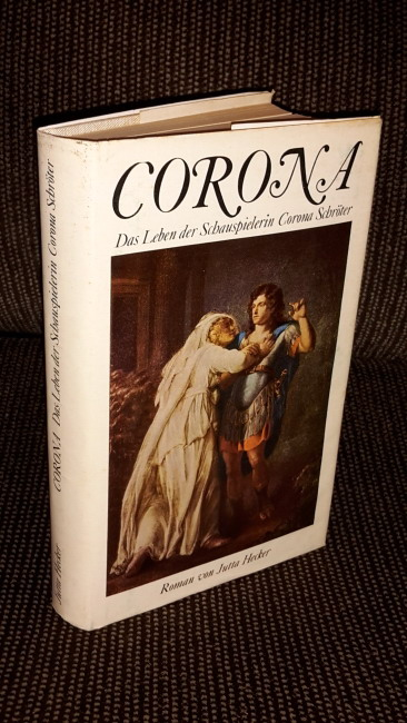 Corona : Das Leben d. Schauspielerin Corona: Hecker, Jutta: