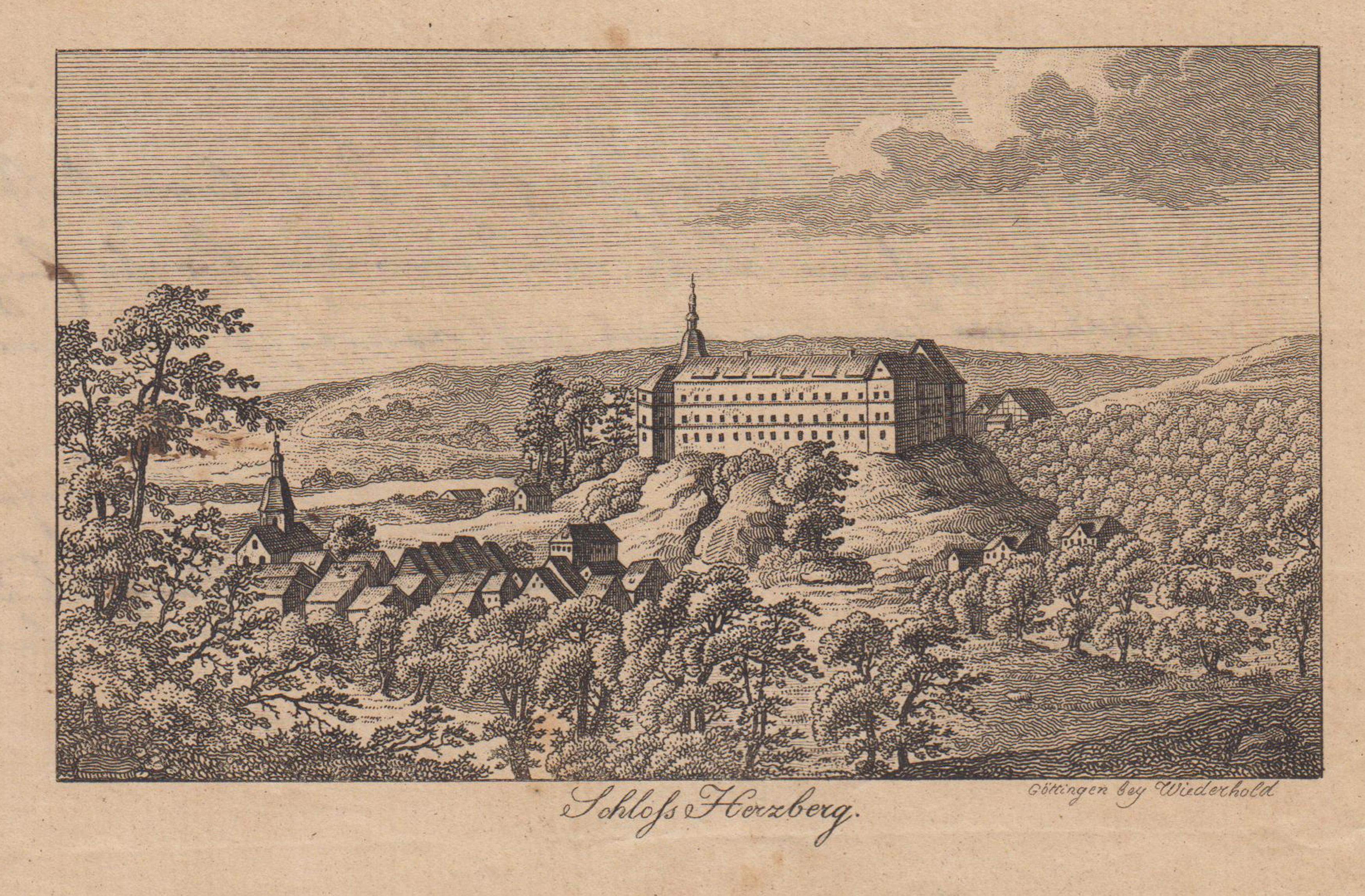"""Gesamtans., m. d. """"Schloss Herzberg"""".: Herzberg Am Harz:"""