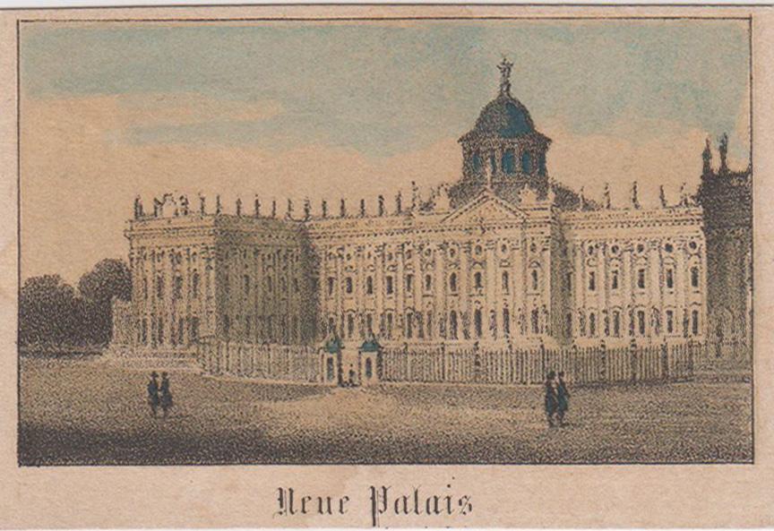 "Neues Palais, ""Neue Palais"".: Potsdam - Park"