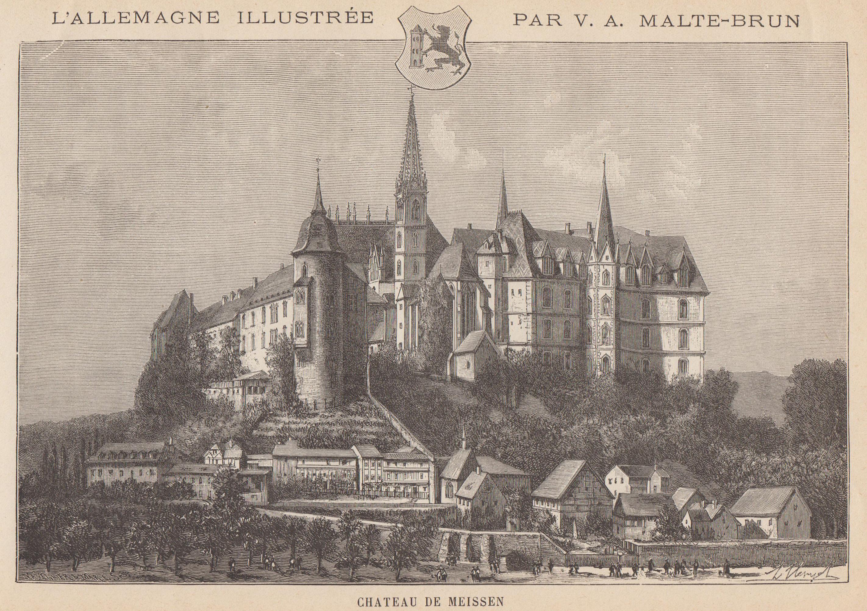 TA., Albrechtsburg.: Meissen: