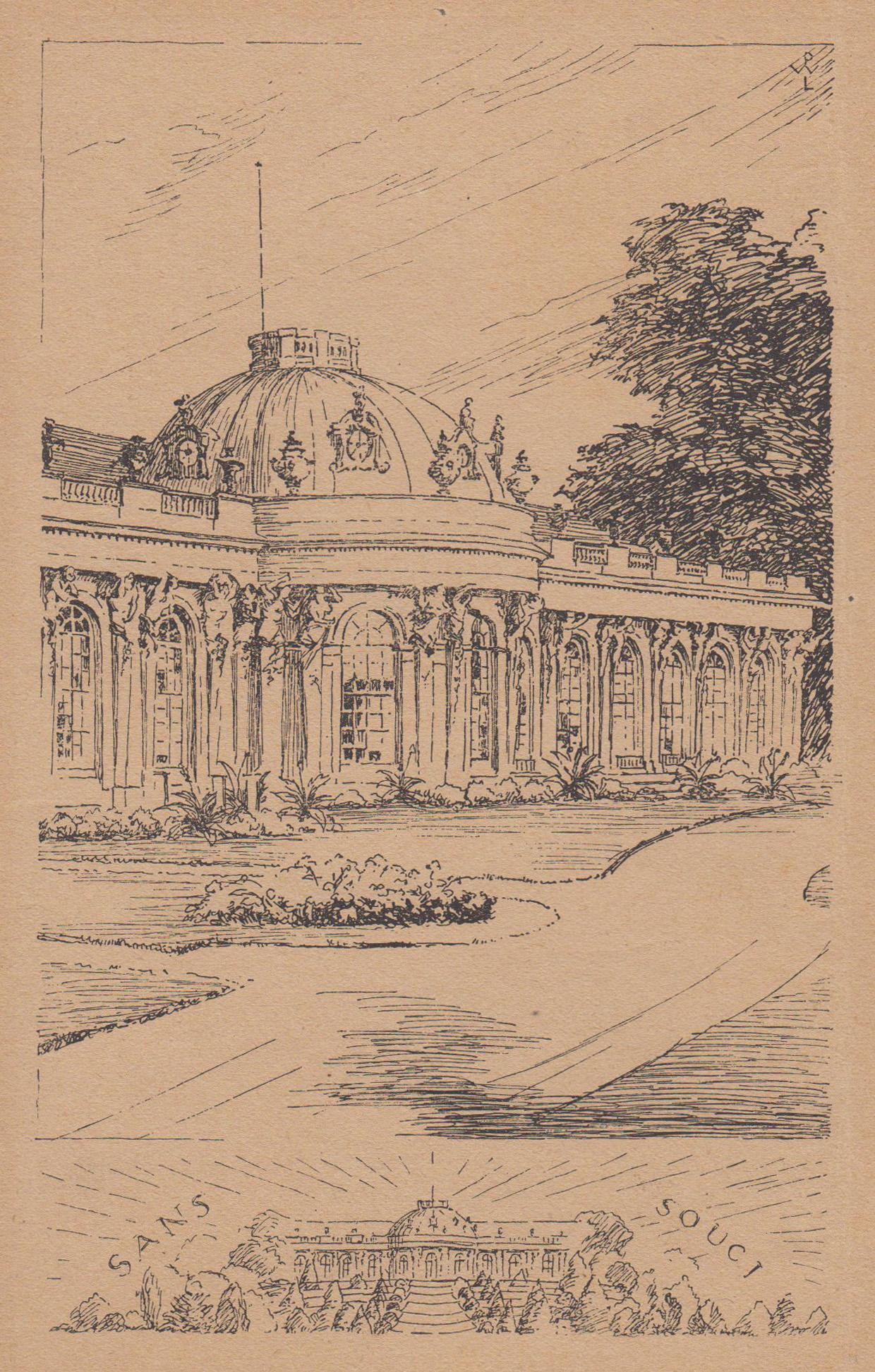 Südseite,.: Potsdam - Schloss