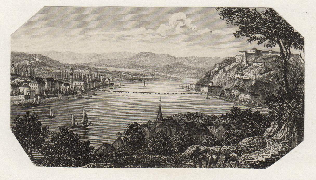 GA., von Pfaffendorf aus.: Koblenz: Ehrenbreitstein: