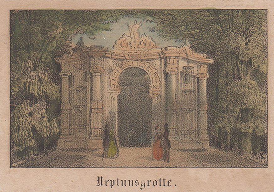 Neptuns Grotte.: Potsdam - Park