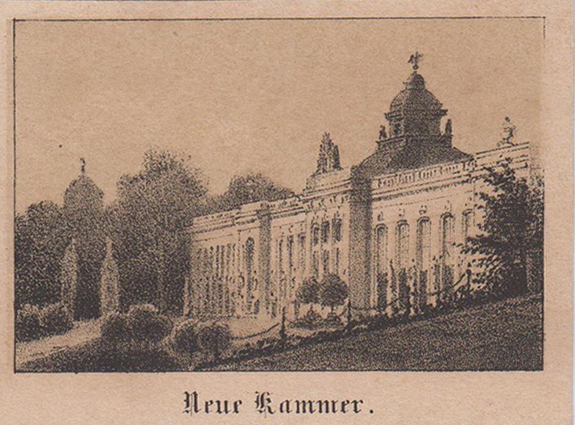 Neue Kammern.: Potsdam - Park