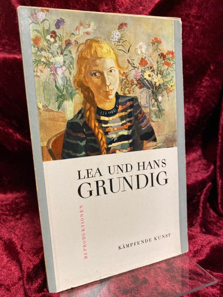 Reproduktionen. Kämpfende Kunst. - Grundig, Lea und Hans Grundig