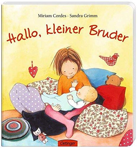 Geb.Buch: HALLO, KLEINER BRUDER (Miriam Cordes/Sandra Grimm) - Grimm, Sandra