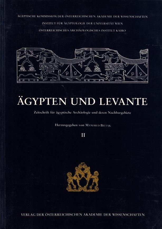 Ägypten und Levante. Zeitschrift für ägyptische Archäologie: BIETAK, Manfred (ed.).