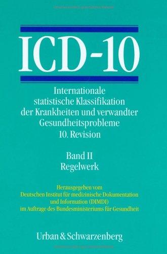 ICD-10, 3 Bde. in 4 Tl.-Bdn., Bd.2,: Urban & Schwarzenberg