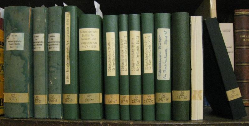 Komplette Reihe 1921 - 1987, Bände 1: Verein für Württembergische