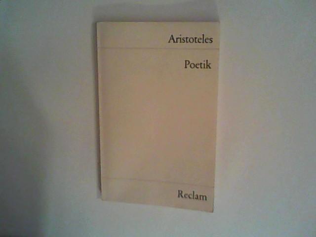 Poetik: Aristoteles: