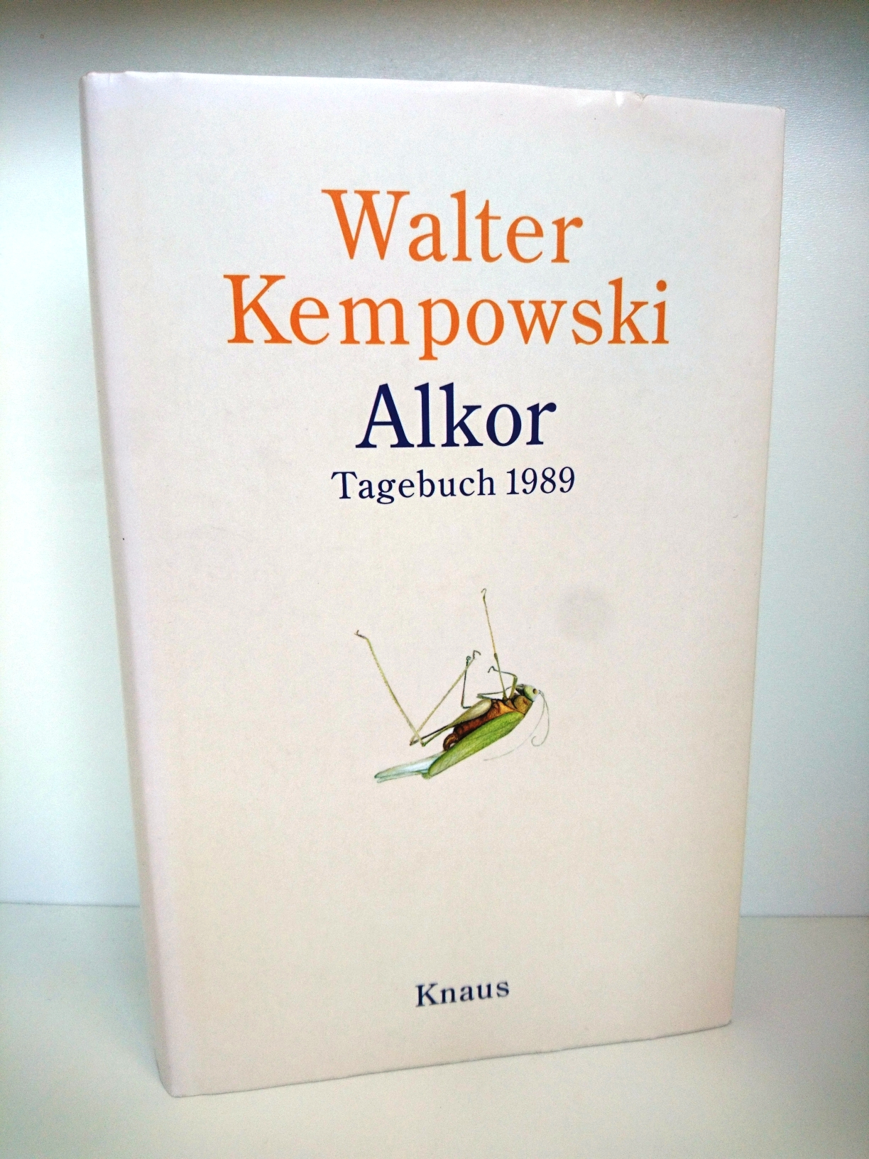Alkor Tagebuch 1989: Walter Kempowski