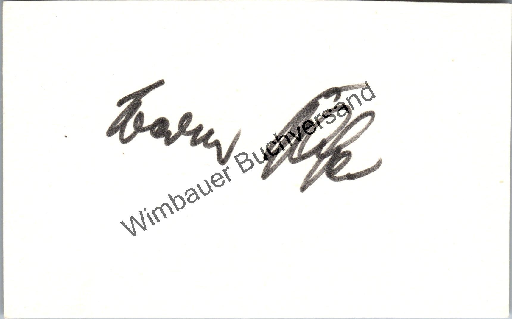 Original Autogramm Werner Bassler (1921-1999) FCK ///: Bassler, Werner :