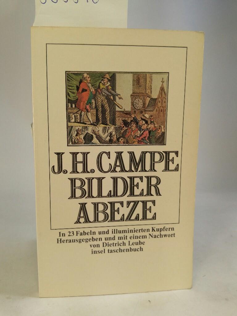 Bilder-Abeze - mit 23 Fabeln: Campe, Joachim Heinrich:
