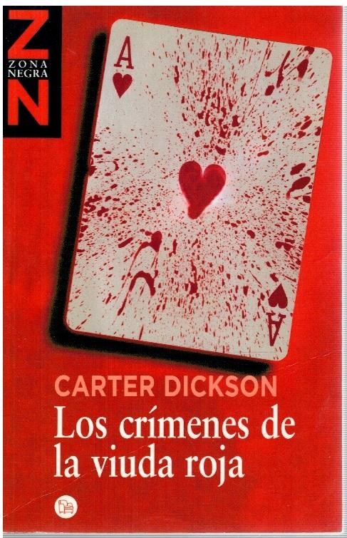 Los crímenes de la viudad roja - Carter Dickson