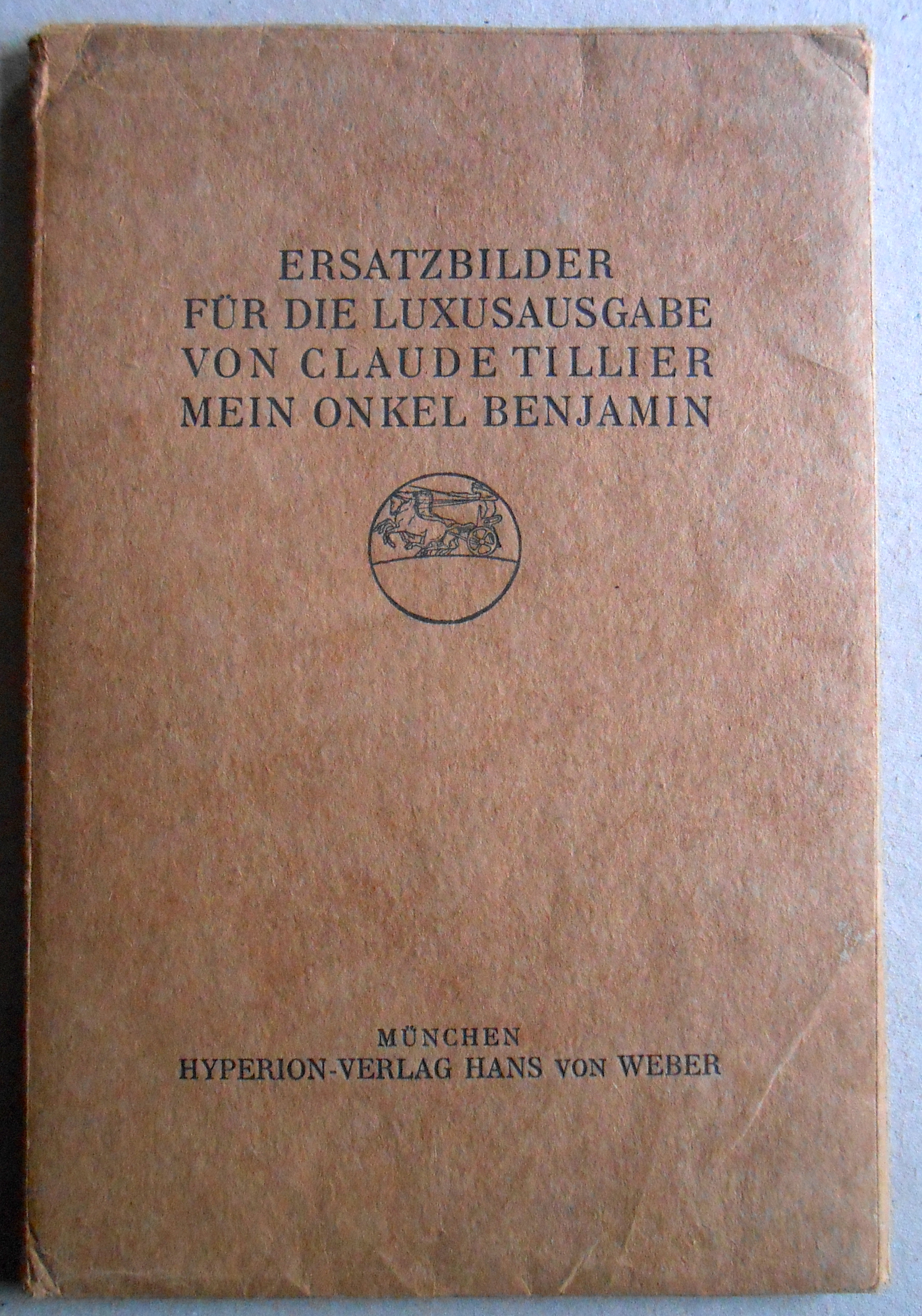 Ersatzbilder für die Luxusausgabe von Claude Tillier: Tillier, Claude /