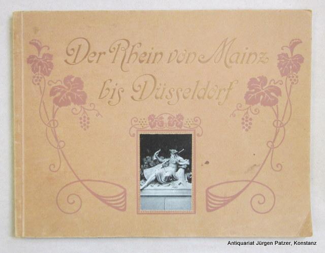 Ein Album. Berlin, Verlag der Gesellschaft zur: Der Rhein von
