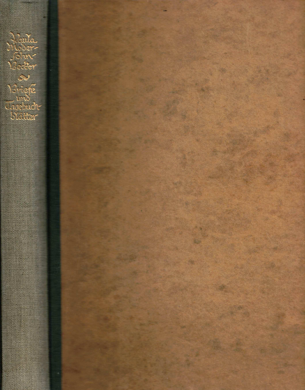 Briefe und Tagebuchblätter von Paula Modersohn-Becker: Pauli, Gustav