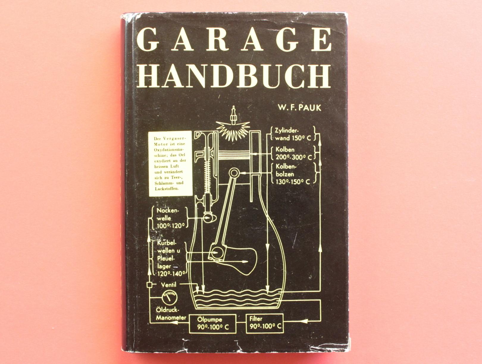 Das Garage-Handbuch. Ein praktischer Leitfaden für das: Autor / Editor: