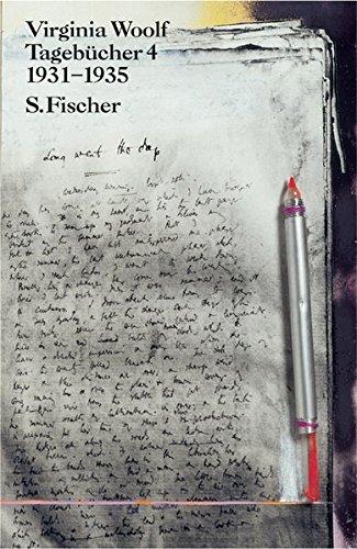 Tagebücher 4: 1931-1935 (Virginia Woolf, Gesammelte Werke) - Reichert, Klaus und Virginia Woolf