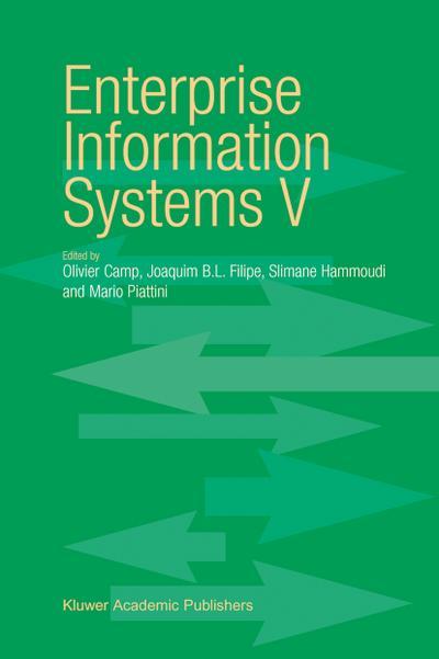 Enterprise Information Systems V - Olivier Camp