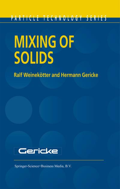 Mixing of Solids - H. Gericke