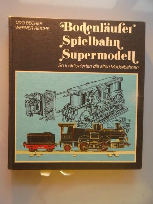 3 Bücher Bodenläufer Spielbahn Supermodell Uhrwerk Dampf: Becher: