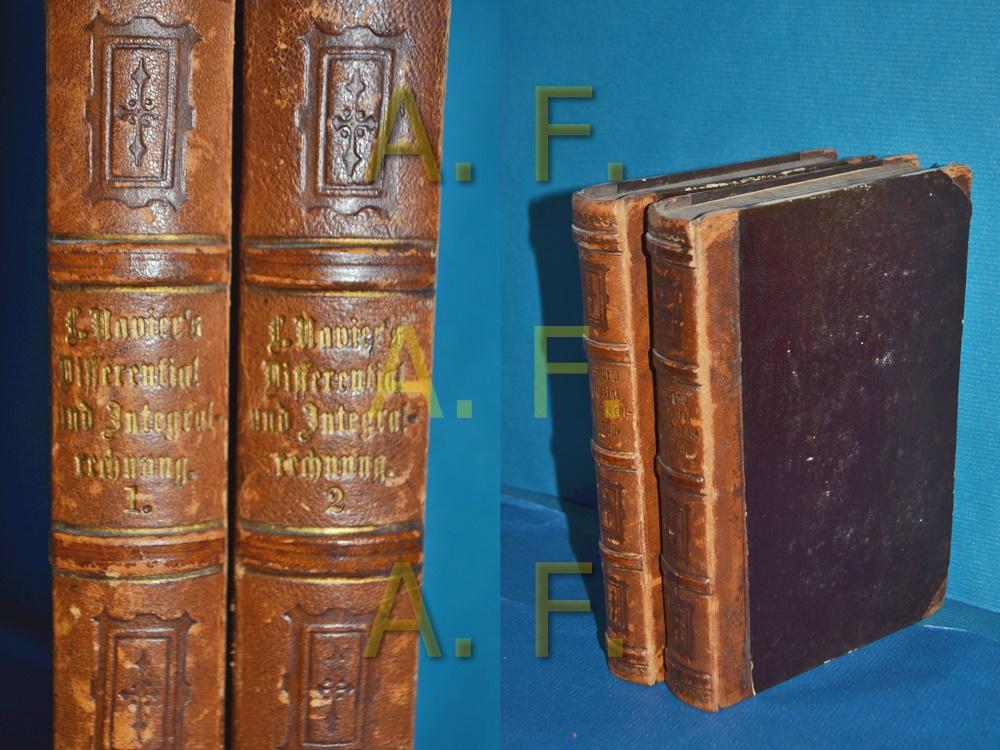 Lehrbuch der Differential- und Integralrechnung in 2: Navier, Claude-Louis-Marie-Henri.: