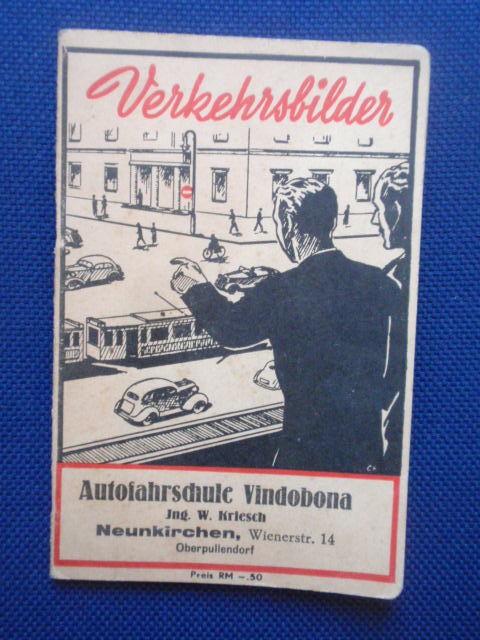 Verkehrsbilder. Eine Lehrfibel zum Erlernen der Verkehrsregeln: Schmidt, R.