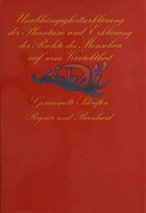 Unabhängigkeitserklärung der Phantasie und Erklärung der Rechte: Dali, Salvador:
