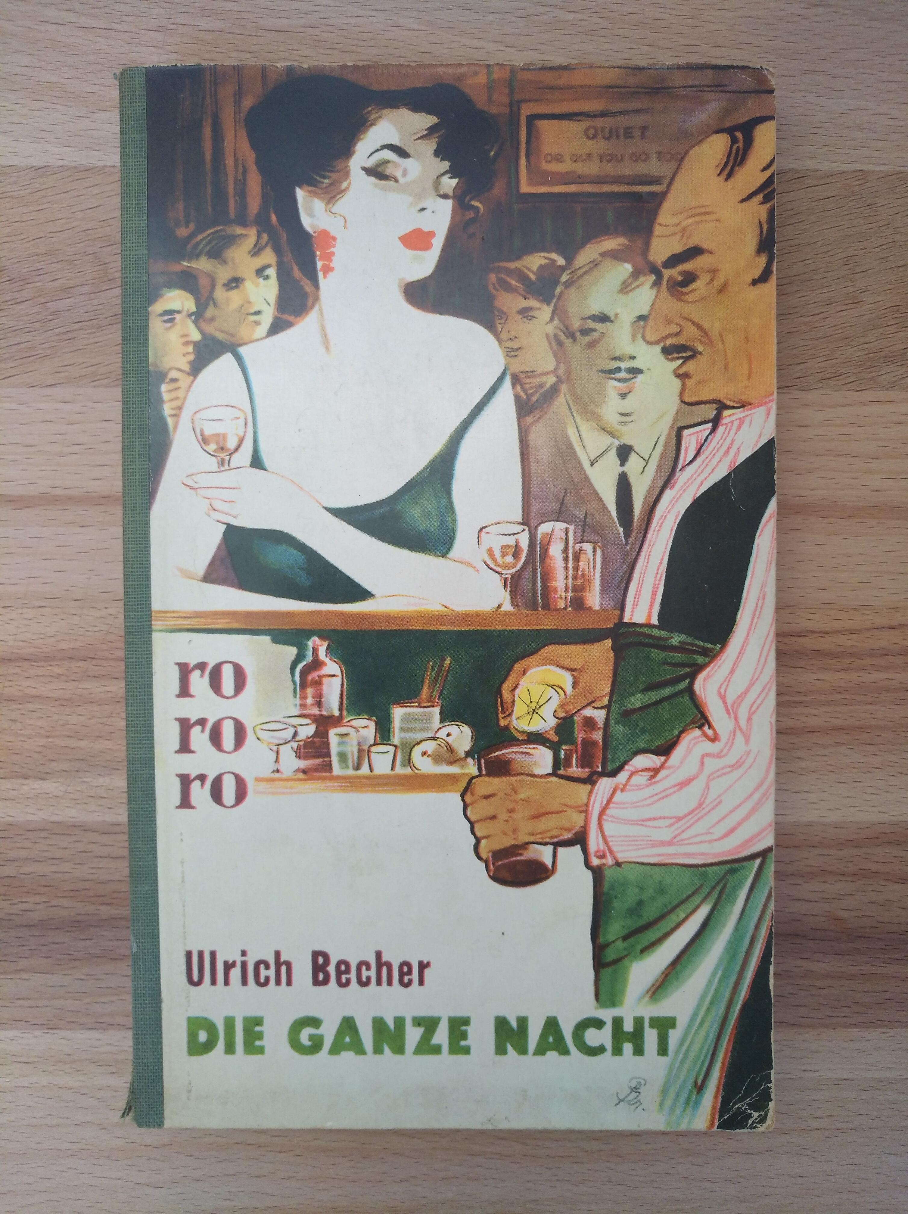 Die ganze Nacht: Becher, Ulrich