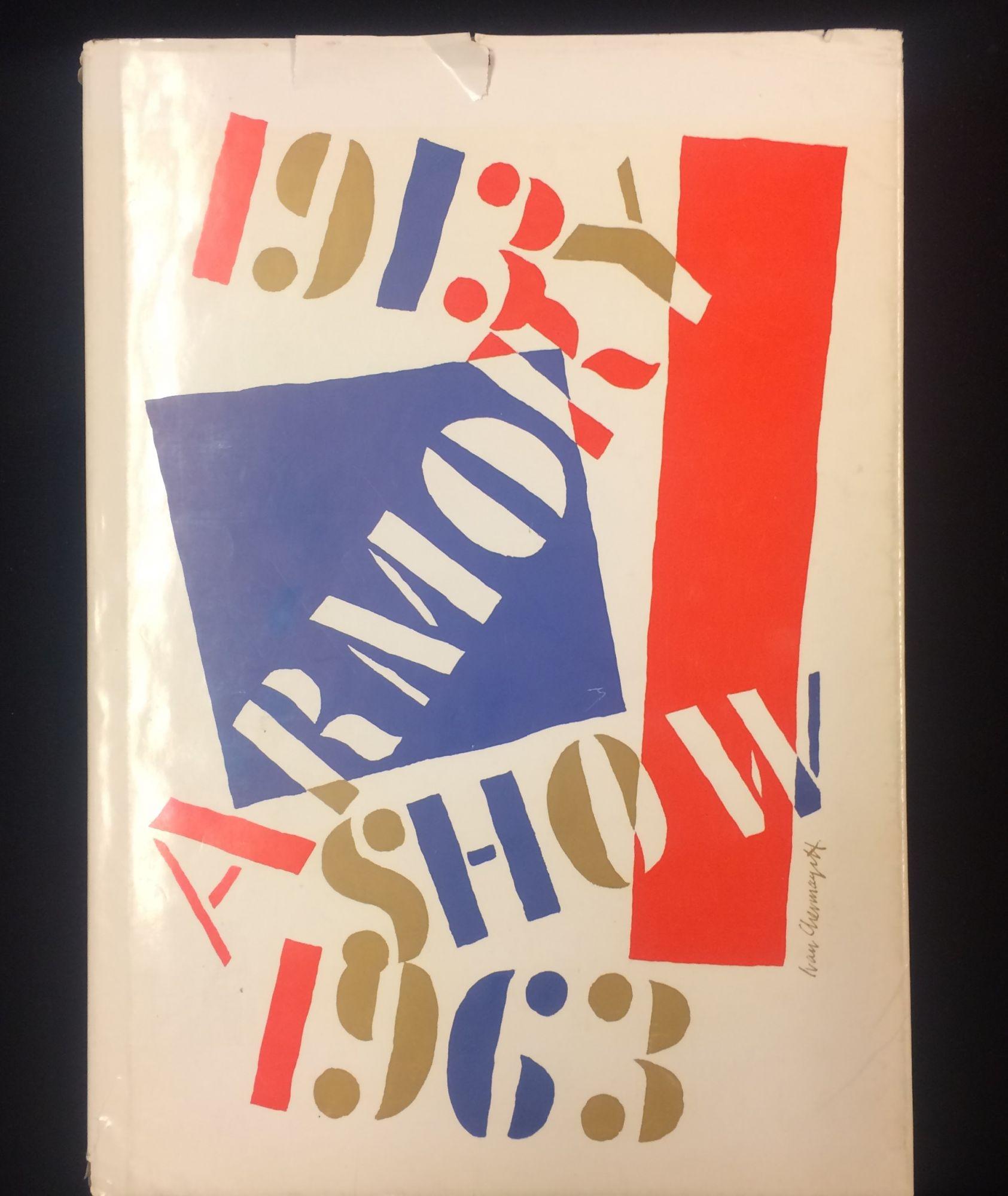 1913 Armory Show 50th Anniversary Exhibition 1963.: Chermayeff, Ivan (dustjacket