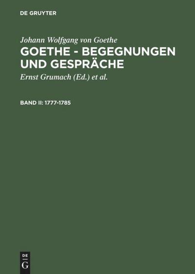 1777-1785: Johann Wolfgang von