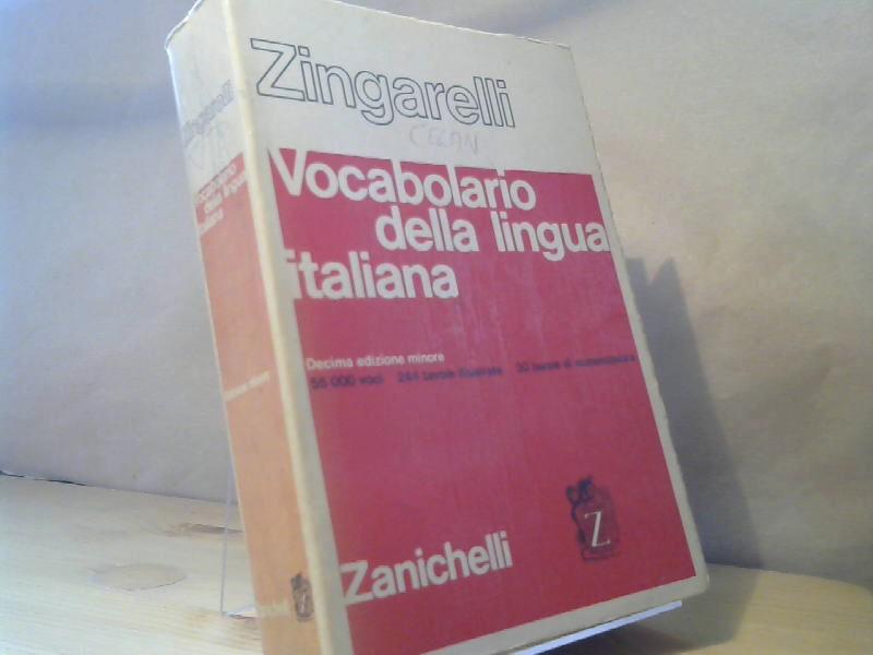 Il nuovo Zingarelli minore. Vocabolario della lingua italiana (Italian Edition) - Nicola Zingarelli