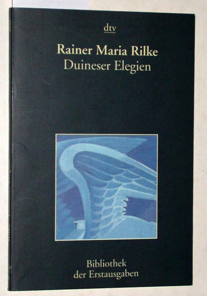 Duineser Elegien. - Rilke, Rainer Maria