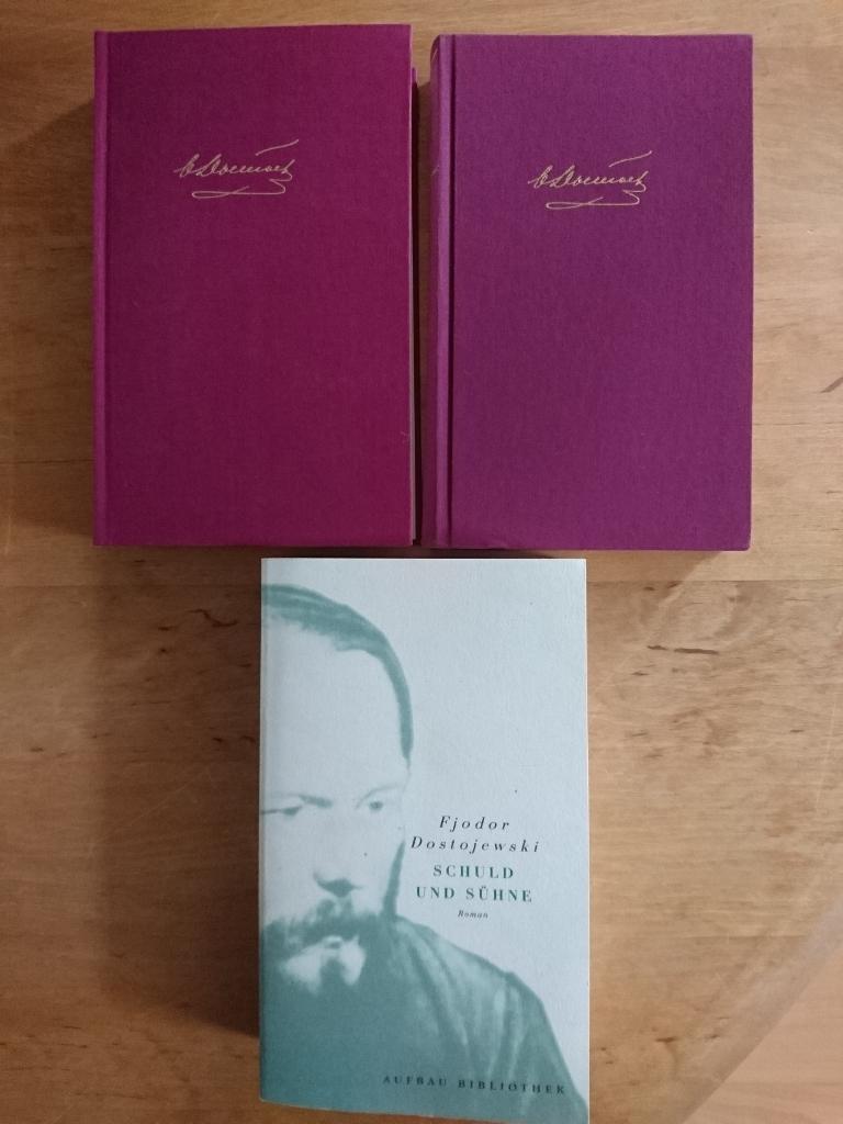 2 Bände Leinen gebunden (Winkler Dünndruck Ausgabe): Dostojewski, Fjodor M.
