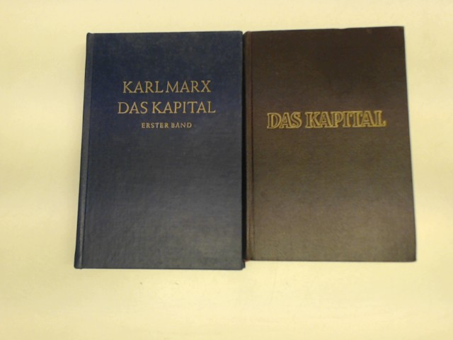 "3x Karl Marx ""Kapital"" (Mischauflage, ""Das Kapital"": Marx, Karl und"
