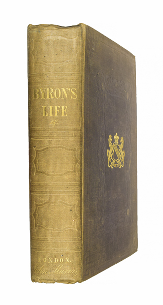 The Life of Lord Byron, with his: BYRON, George Noel