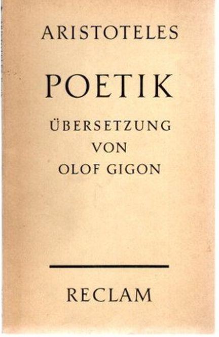 Poetik. Übersetzung, Einleitung und Anmerkungen von Olof: Aristoteles:
