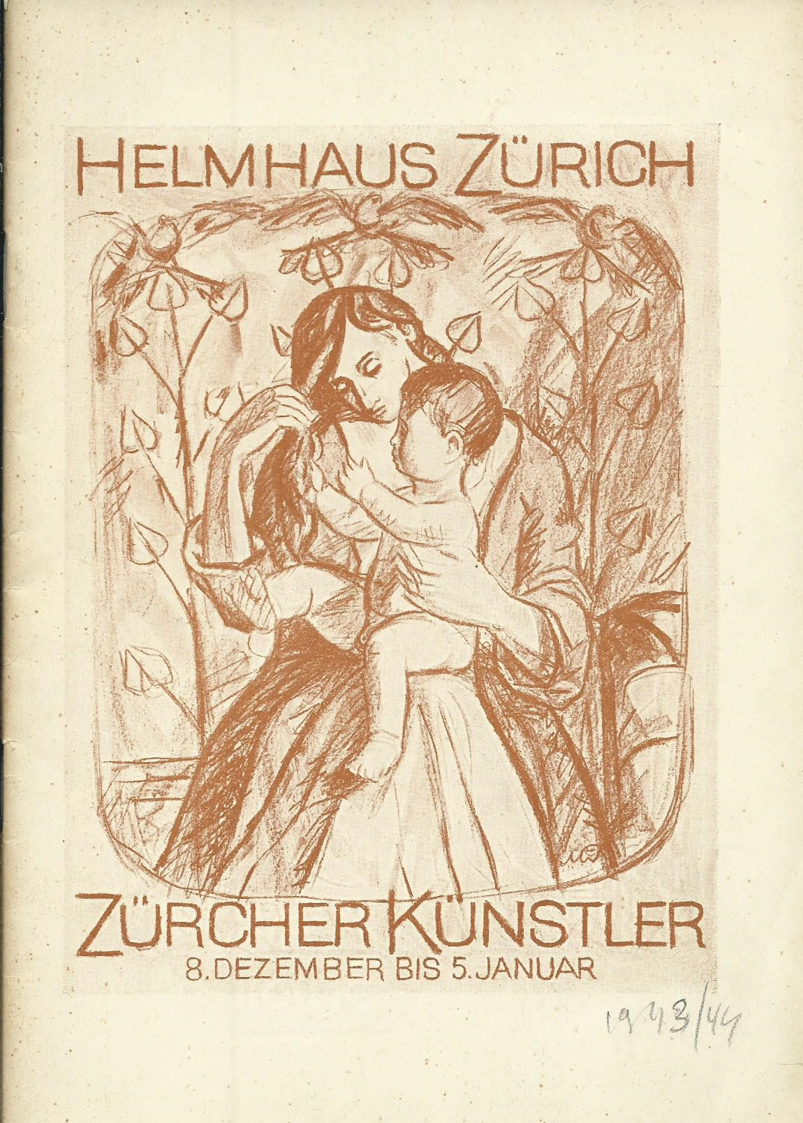 Ausstellung Zürcher Künstler im Helmhaus, 8. Dezember: Stadt Zürich, Hrsg.